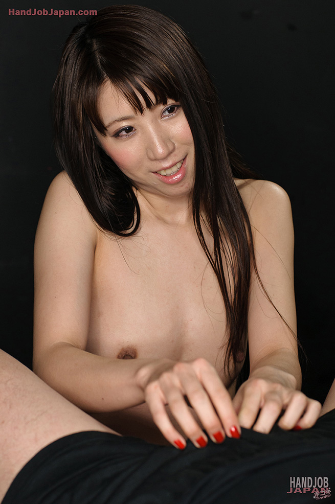 Japanese av model with long nails is pumped by sucked phallu 2