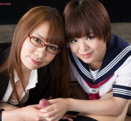 Meril Imai and Miharu Kai, 今井めりる 甲斐ミハル - Tekoki Japan presents Japanese AV Idols and amateur girls handjob fetish photos and videos 無修正手コキギャラリー, Japanese, hand, jobs, tekoki, masturbation, fetish, sex, Handjob, Japan, JAV, AV, Idols, JAV Idols, Cute, girls, stroking, hard, cocks, adult, video, 無修正動画, 手コキ, オナニー, フェチ, AV女優, 手コキ動画, アダルトビデオ, かわいい女の子
